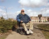joseph in wheelchair